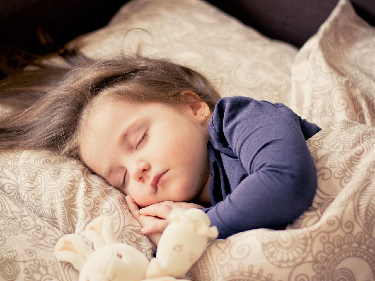 Kid sleeping peacefully