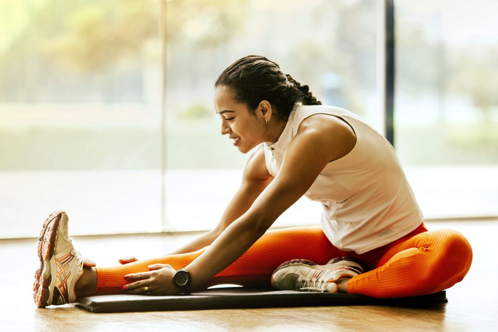 managing stress - yoga