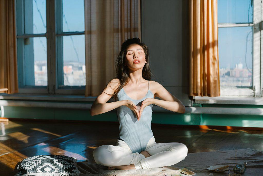 meditating - how meditation improves sleep